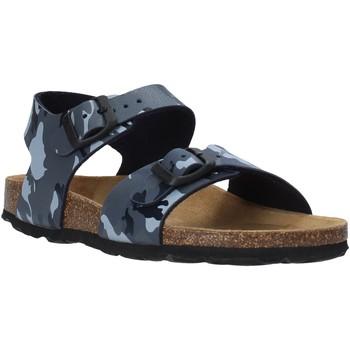 Topánky Deti Sandále Grunland SB0115 Šedá
