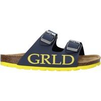 Topánky Deti Šľapky Grunland CB2420 Modrá