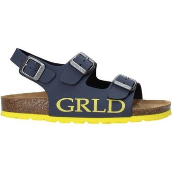 Topánky Deti Sandále Grunland SB1516 Modrá