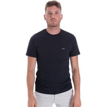 Oblečenie Muži Tričká s krátkym rukávom Les Copains 9U9011 Modrá