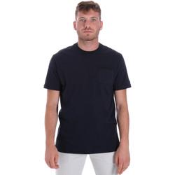 Oblečenie Muži Tričká s krátkym rukávom Les Copains 9U9010 Modrá