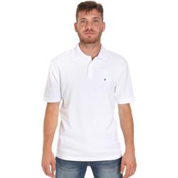 Oblečenie Muži Polokošele s krátkym rukávom Les Copains 9U9015 Biely