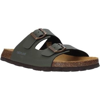 Topánky Muži Šľapky Grunland CB3012 Zelená