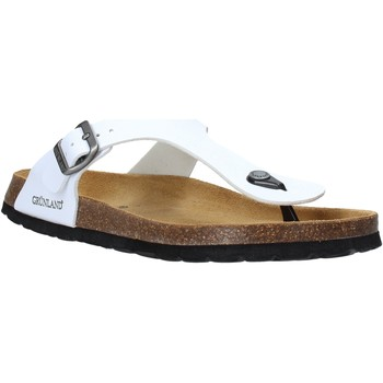 Topánky Muži Žabky Grunland CB3014 Biely