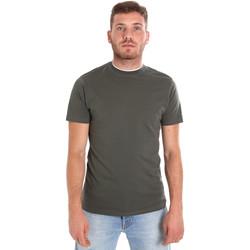 Oblečenie Muži Tričká s krátkym rukávom Les Copains 9U9013 Zelená