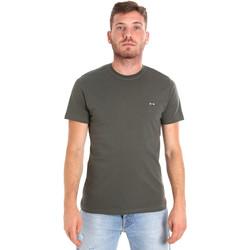 Oblečenie Muži Tričká s krátkym rukávom Les Copains 9U9011 Zelená