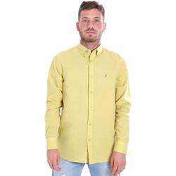 Oblečenie Muži Košele s dlhým rukávom Les Copains 9U2371 žltá