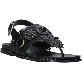 Topánky Ženy Sandále Mally 6562 čierna