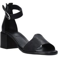 Topánky Ženy Sandále Mally 6866G čierna