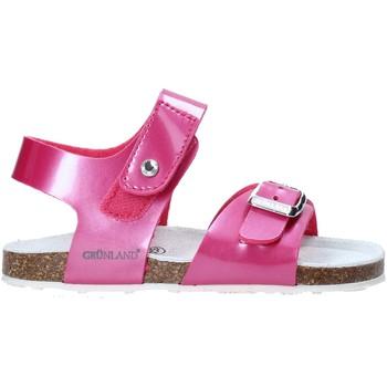 Topánky Deti Sandále Grunland SB0375 Ružová