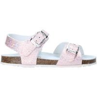 Topánky Dievčatá Sandále Grunland SB0812 Ružová