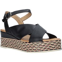 Topánky Ženy Sandále Bueno Shoes Q5901 čierna