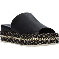 Topánky Ženy Šľapky Bueno Shoes Q5905 čierna