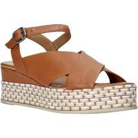 Topánky Ženy Sandále Bueno Shoes Q5901 Hnedá