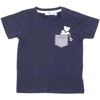 Oblečenie Deti Tričká s krátkym rukávom Melby 20E5070 Modrá