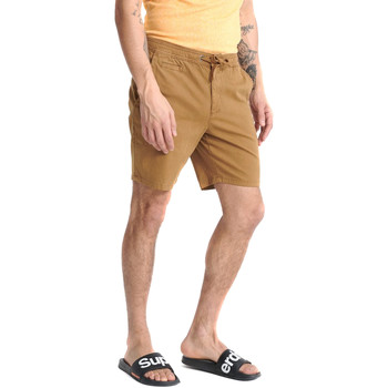Oblečenie Muži Šortky a bermudy Superdry M7110017A Béžová