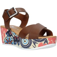 Topánky Ženy Sandále Grace Shoes 12 Hnedá