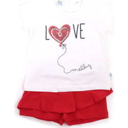 Oblečenie Dievčatá Komplety a súpravy Melby 20L7001 Červená