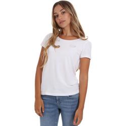 Oblečenie Ženy Tričká s krátkym rukávom Ea7 Emporio Armani 8NTT64 TJ28Z Biely