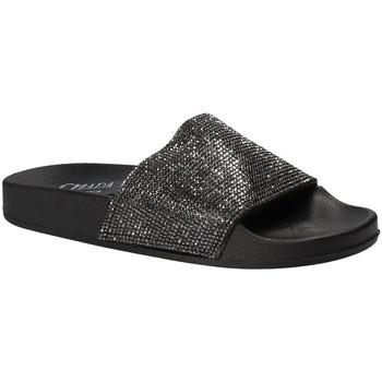 Topánky Ženy športové šľapky Chiara Pacini C18E2506 čierna