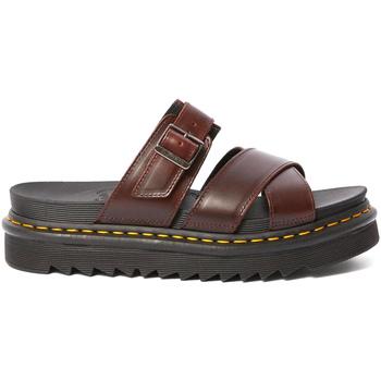 Topánky Ženy Sandále Dr Martens DMSRYKCHBR24515211 Hnedá
