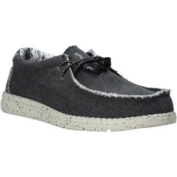 Topánky Muži Derbie U.s. Golf S20-SUS123 čierna