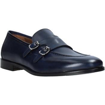 Topánky Muži Mokasíny Rogers 1016_5 Modrá