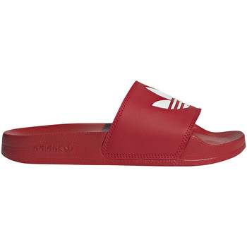 Topánky Deti športové šľapky adidas Originals FU9179 Červená