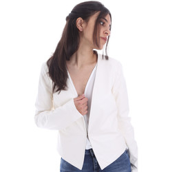 Oblečenie Ženy Saká a blejzre Gaudi 011FD38004 Biely