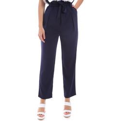 Oblečenie Ženy Nohavice Chinos a Carrot Gaudi 011BD25040 Modrá