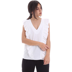 Oblečenie Ženy Blúzky Gaudi 011BD45031 Biely
