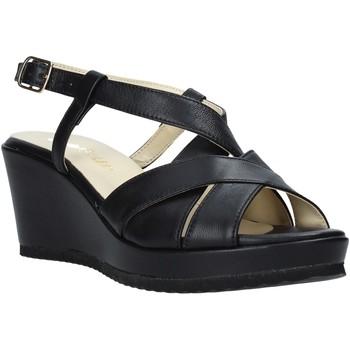 Topánky Ženy Sandále Esther Collezioni ZB 018 čierna
