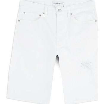 Oblečenie Muži Šortky a bermudy Calvin Klein Jeans J30J314643 Biely