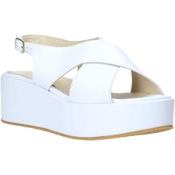 Topánky Ženy Sandále Esther Collezioni Z039 Biely