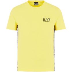 Oblečenie Muži Tričká s krátkym rukávom Ea7 Emporio Armani 3HPT07 PJ03Z žltá