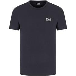 Oblečenie Muži Tričká s krátkym rukávom Ea7 Emporio Armani 8NPT51 PJM9Z Modrá