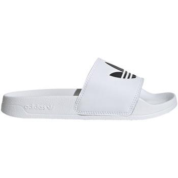 Topánky Deti športové šľapky adidas Originals EG8272 Biely