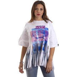 Oblečenie Ženy Tričká s krátkym rukávom Versace B2HVB7V730384003 Biely