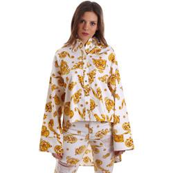 Oblečenie Ženy Košele a blúzky Versace B0HVB624S0771003 Biely