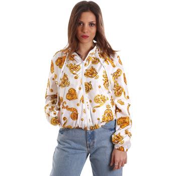 Oblečenie Ženy Mikiny Versace C9HVB92525115003 Biely