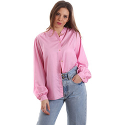 Oblečenie Ženy Košele a blúzky Versace B0HVB62307619445 Ružová