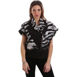 Oblečenie Ženy Bundy  Versace C0HVB92DHRC5X899 čierna