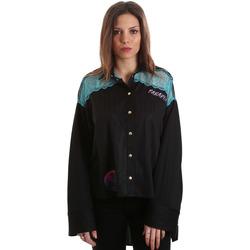 Oblečenie Ženy Košele a blúzky Versace B0HVB60310623899 čierna