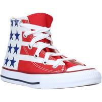 Topánky Deti Členkové tenisky Converse 667794C Biely