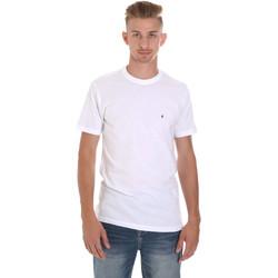 Oblečenie Muži Tričká s krátkym rukávom Les Copains 9U9011 Biely