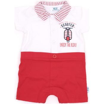 Oblečenie Dievčatá Módne overaly Melby 20P7370 Červená