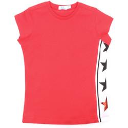 Oblečenie Dievčatá Tričká s krátkym rukávom Melby 70E5645 Červená