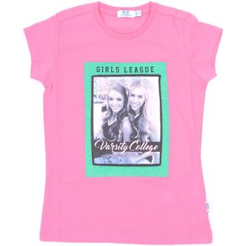 Oblečenie Dievčatá Tričká s krátkym rukávom Melby 70E5645 Ružová