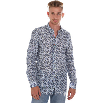 Oblečenie Muži Košele s dlhým rukávom Sseinse CE508SS Modrá