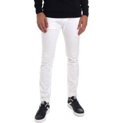 Oblečenie Muži Rifle Slim  Gaudi 011BU25061 Biely